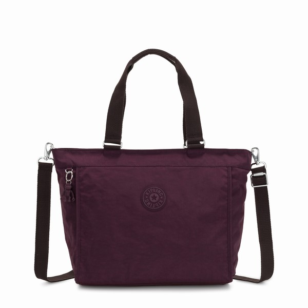 fialová shopper bag Kipling