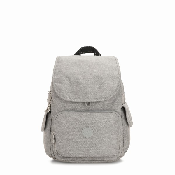 batoh Kipling CITY PACK CHALK GREY