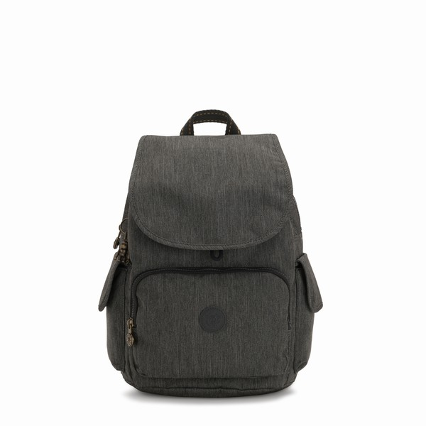 šedý batoh Kipling CITY PACK BLACK INDIGO