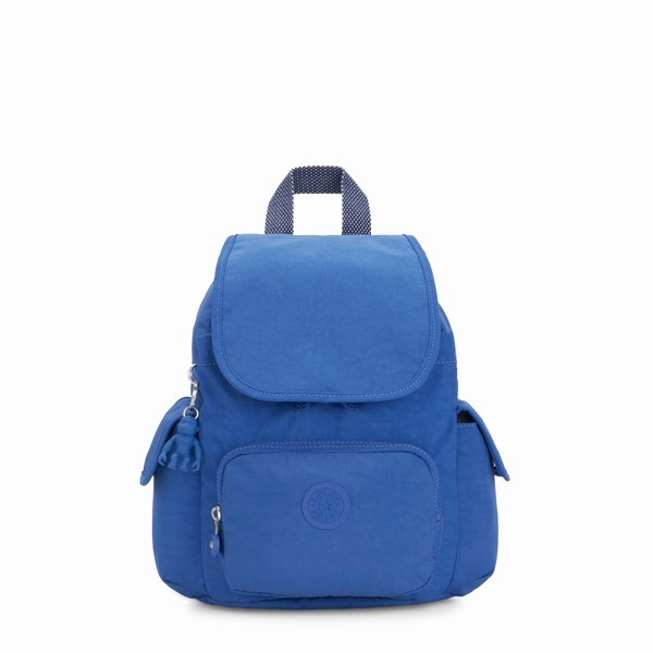 mini batoh do města Kipling CITY PACK MINI Wave Blue modrý