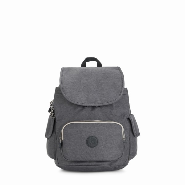 šedý batoh Kipling CITY PACK S Charcoal
