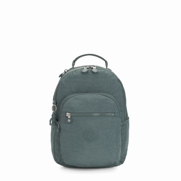 zelený batoh na notebook Kipling SEOUL S Light Aloe