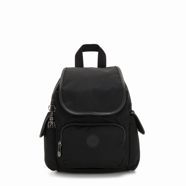 černý batoh Kipling CITY PACK MINI Rich Black